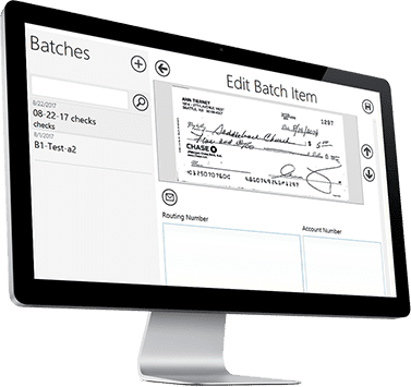 Check Scanning & Processing Software For Churches | Vision2